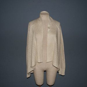 New SONOMA Beige Cascade Cardigan Sweater XL NWT